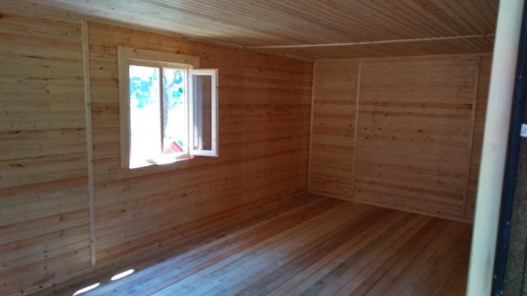 дачный домик с террасой 6х6 м+