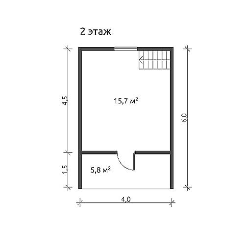 каркасный дом кд-3+